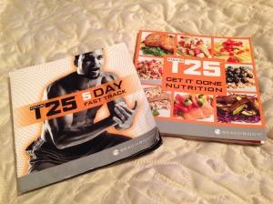 Focus T25 Nutrition Guides